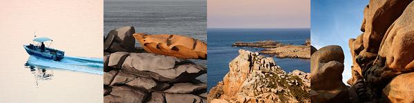 Bilder von verschiedenen Reisen in die Bretagne und die Normandie