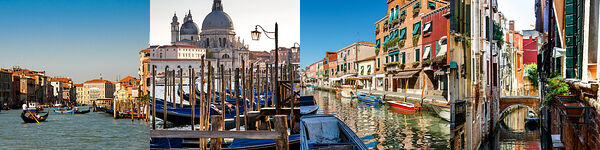 Besuch in der weltbekannten Lagunenstadt Venedig sowie der Glasbläserinsel Murano.