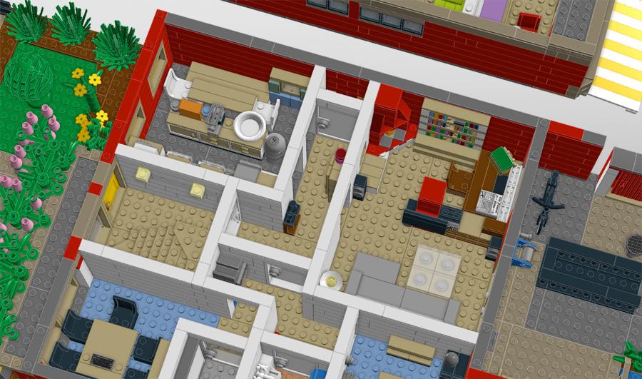 Unser Haus aus LEGO mielke