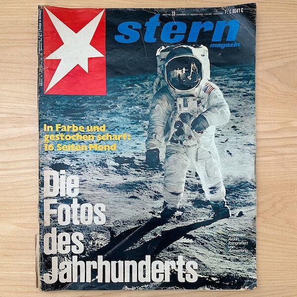 Titelseite des Stern Ausgabe 33 vom 17. August 1969