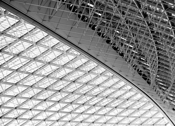 Flughafenhalle Charles de Gaulle, Paris