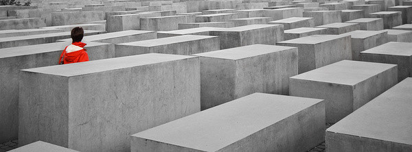 Besucher I | Holocaust Mahnmal