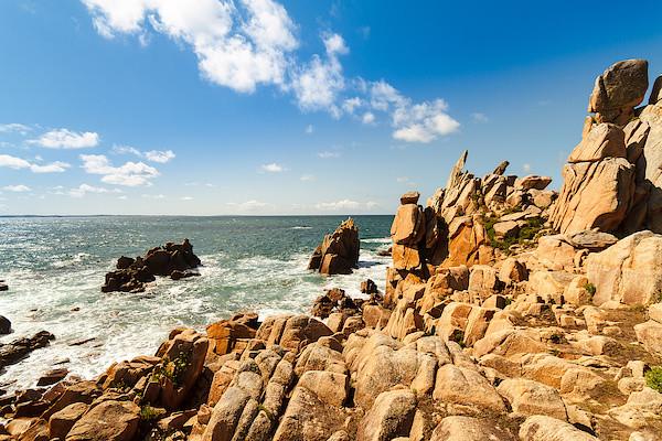 Küste bei Pointe du Diben I