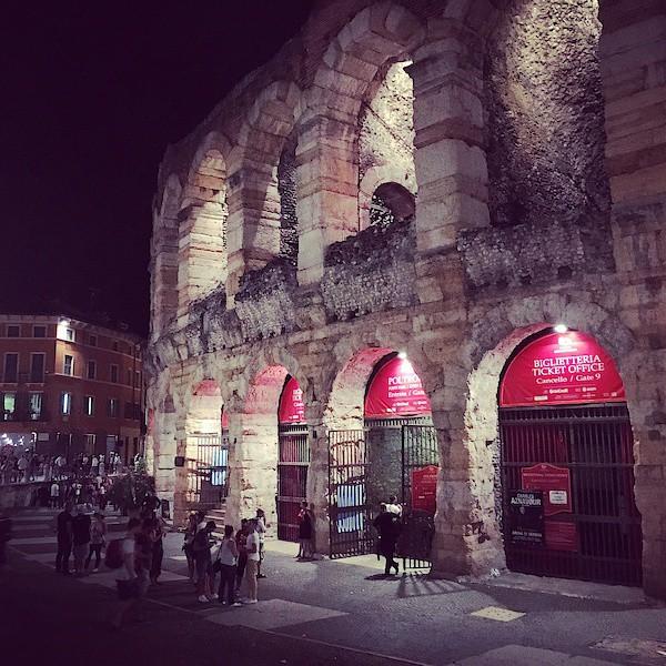 Abschied von der Arena di Verona