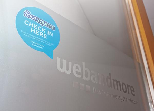 Foursquare bei webandmore