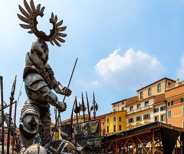 Oper-Kulissen in Verona