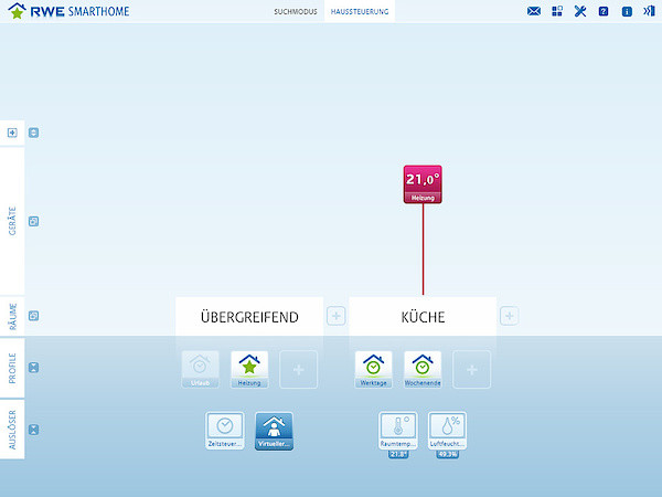 RWE SmartHome Software