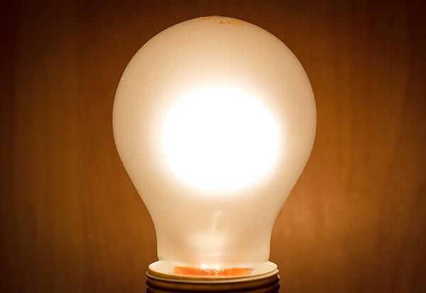 60W Glühlampe