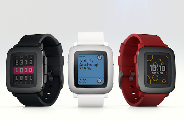 Die Pebble Time (Bild: Pebble)