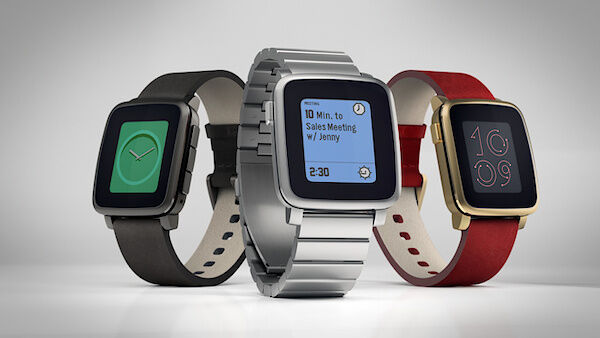 Die Pebble Time Steel (Bild: Pebble)