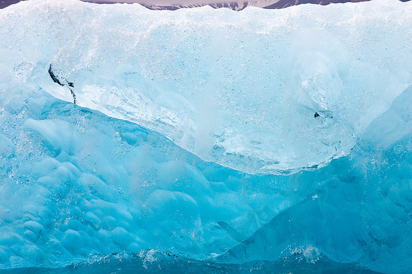 Eisblock im Jökulsárlón