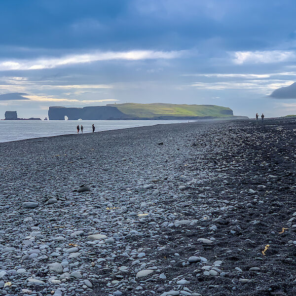 Blick zur Halbinsel Dyrhólaey