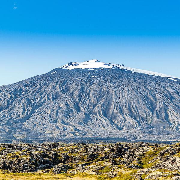 Der Gipfel des Snæfellsjökull