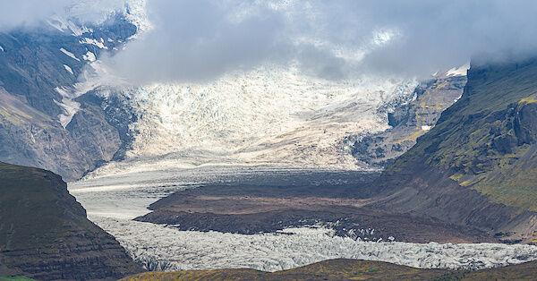Einer der vielen Ausläufer des Vatnajökull