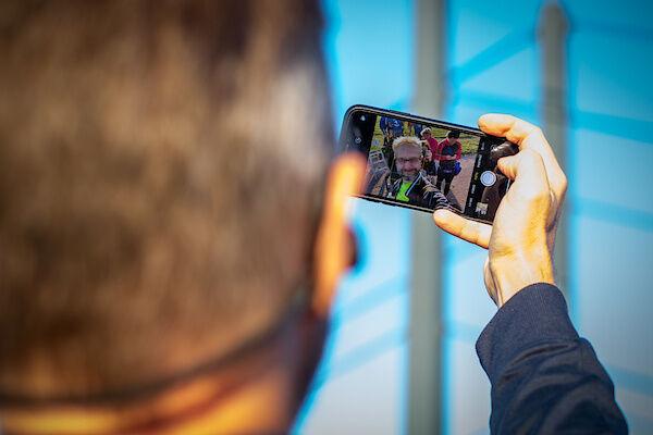 ich mache ein Selfie (Danke an Jörg Becker für das Bild)