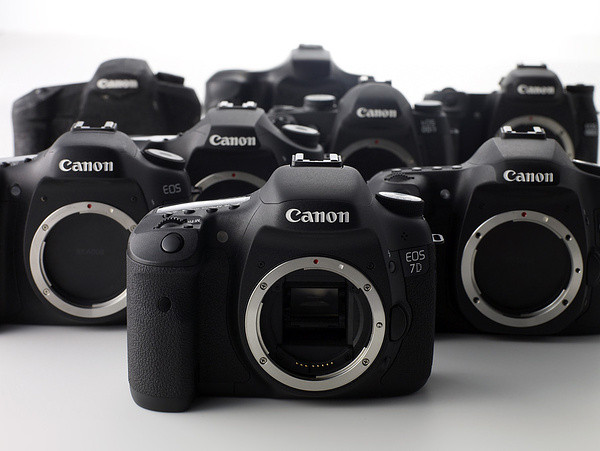 Canon EOS 7D Prototypen (Foto: Canon)