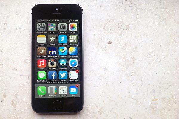 Mein neues iPhone 5s