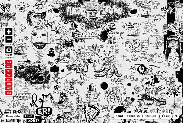 Edding – Wall Of Fame