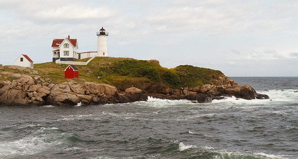"Cape Neddick (""Nubble"") Light I"