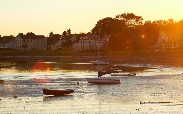 Sonnenuntergang, Kennebunk Beach, Maine
