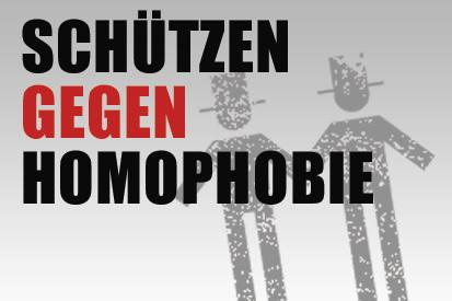 Schützen gegen Homophobie