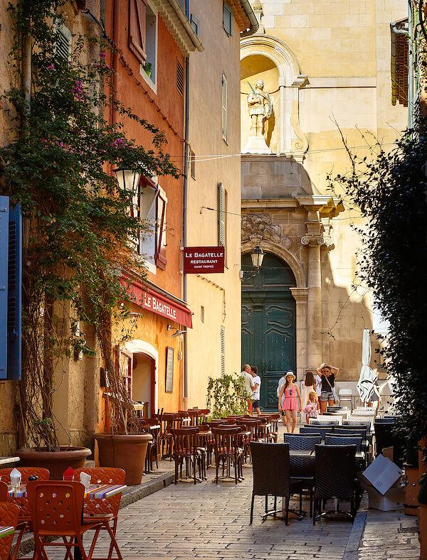 In der Altstadt von Saint-Tropez