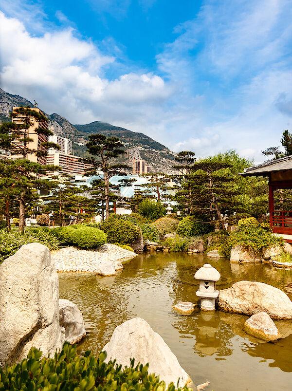 Der Japanische Garten von Monaco