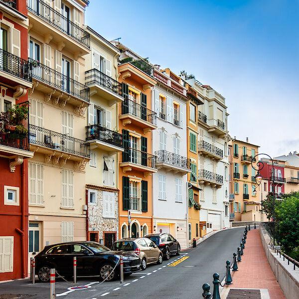 Die Altstadt in Monaco