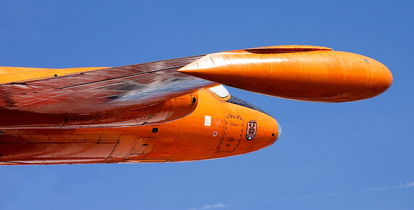 Oranger Jäger | Auto & Technik Museum Sinsheim