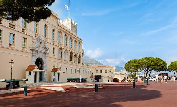 Der Fürstenpalast der Grimaldis