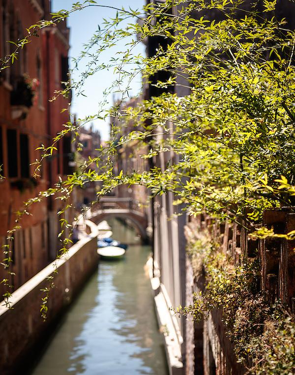 Typischer Kanal in Venedig