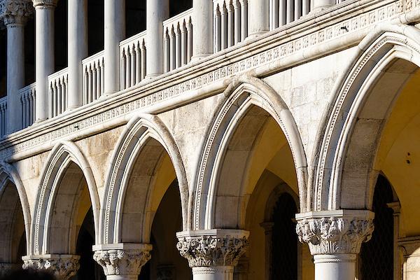 Bogengang des Dogenpalastes