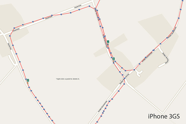 GPS: iPhone 3GS vs. iPhone 4
