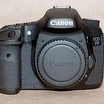 Canon EOS 7D Vorderseite