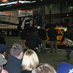 """Dreharbeiten zu """"Terminal"""" am Times Square 2003"""