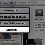 Drucken mit AirPrint unter Windows vom iPad oder iPhone