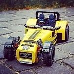 LEGO Caterham Seven 620R - Timelapse