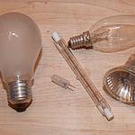 Lampen, Glühbirnen, Leuchtmittel