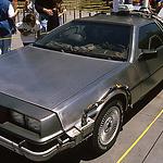 Legendäre Autos der Kinogeschichte in den Universal Studios 1995