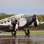 """Mein Rundflug mit der Ju 52 - """"Tante Ju"""" – Ein Bericht"""