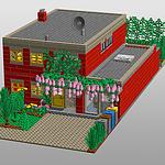 Unser Haus aus LEGO