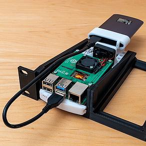 19 Zoll Raspberry Pi Rack