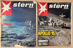 Titelseiten des Stern Ausgabe 50/1969 und 35/1971
