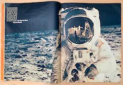 """Untertitel im Stern 33/1969: """"Der Mann im Mond hat kein Gesicht"""""""
