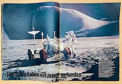 """Untertitel im Stern 35/1971: """"Leute, wir haben ein Juwel gefunden"""""""