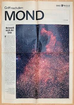 """Sonderbeilage der Welt vom Juli 1969: """"Griff nach dem Mond"""""""