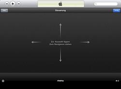 Remote-App Bedienoberfläche