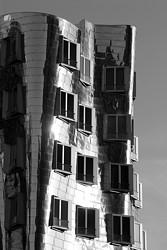 """Gehry-Bauten: """"Neuer Zollhof"""" Medienhafen Düsseldorf"""