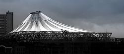 Das Dach des Sony Center
