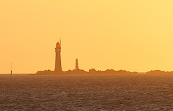 Leuchtturm vor Saint Malo